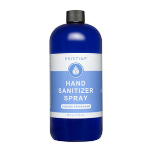 Hand Sanitizer | Cooling Peppermint | 32 oz Refill