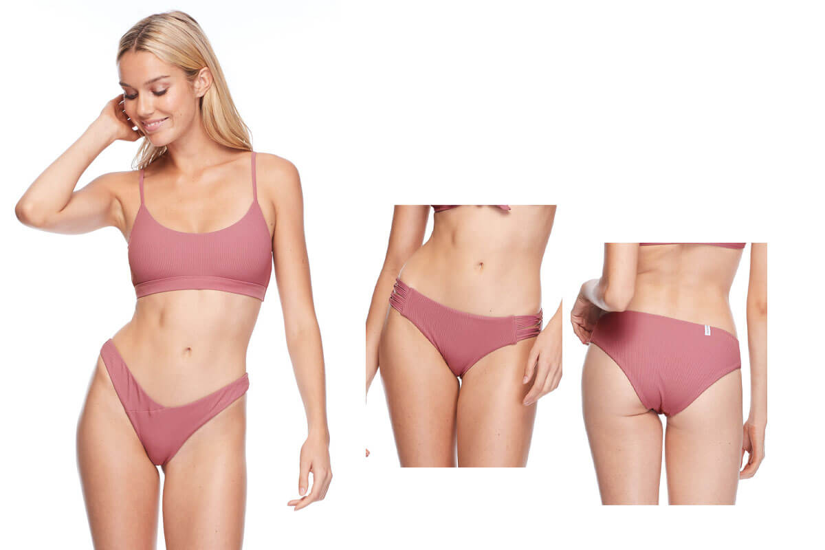 Body Glove Aro Top and Ruby Bottoms in Rosewood