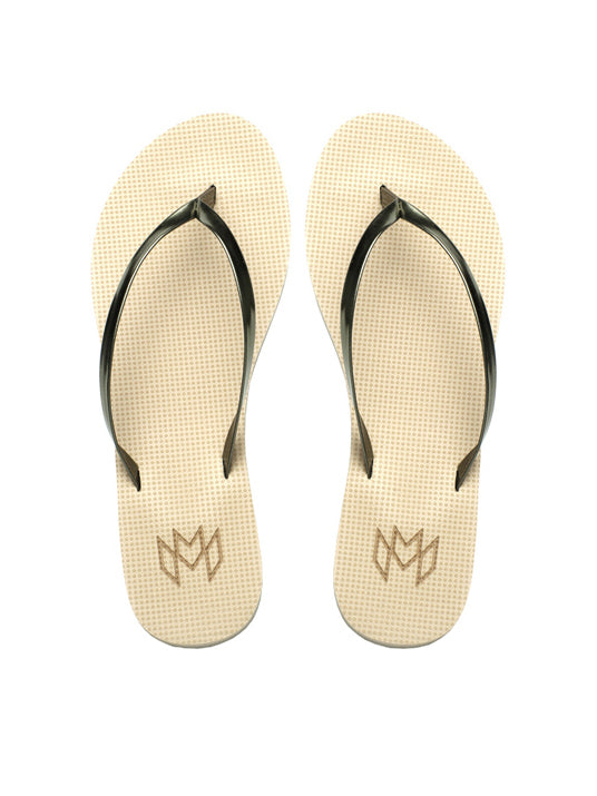 Malvados Lux Spiked Coffee Sandals