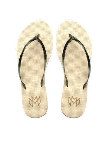 Malvados Lux- Spiked Coffee Sandals