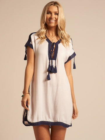 Koy Resort Tulum Tunic Dress Indigo