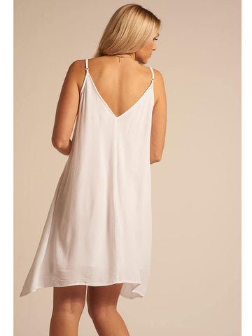 Koy Resort Miami Spaghetti Strap Dress White