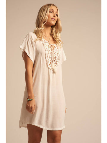 Koy Resort Paradise Kaftan Cream