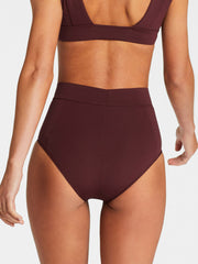 Vitamin A Elena Bottom Sangria Bodysculpt, view 2, click to see full size