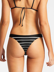 Vitamin A Rosie Teeny Cut Bottom Midnight Stripe, view 2, click to see full size
