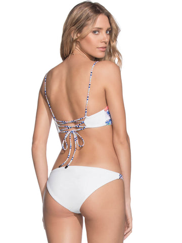 Maaji Harborside Melody Top White Print