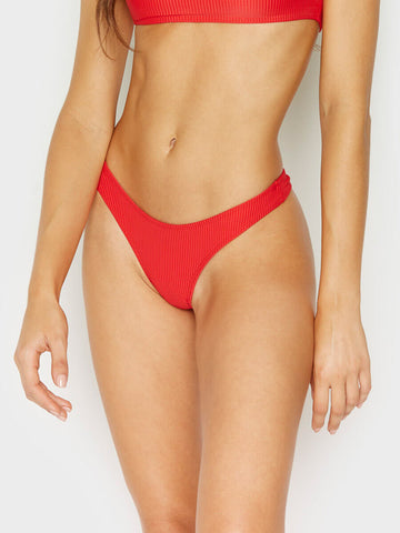Frankies Bikinis Boots Bottom Red