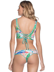 Maaji Aquatic Allure Top Aqua, view 4, click to see full size