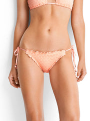 Seafolly Havana Hipster Tie Side Peach, view 1, click to see full size