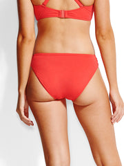 Seafolly Ruched Side Retro Chilli