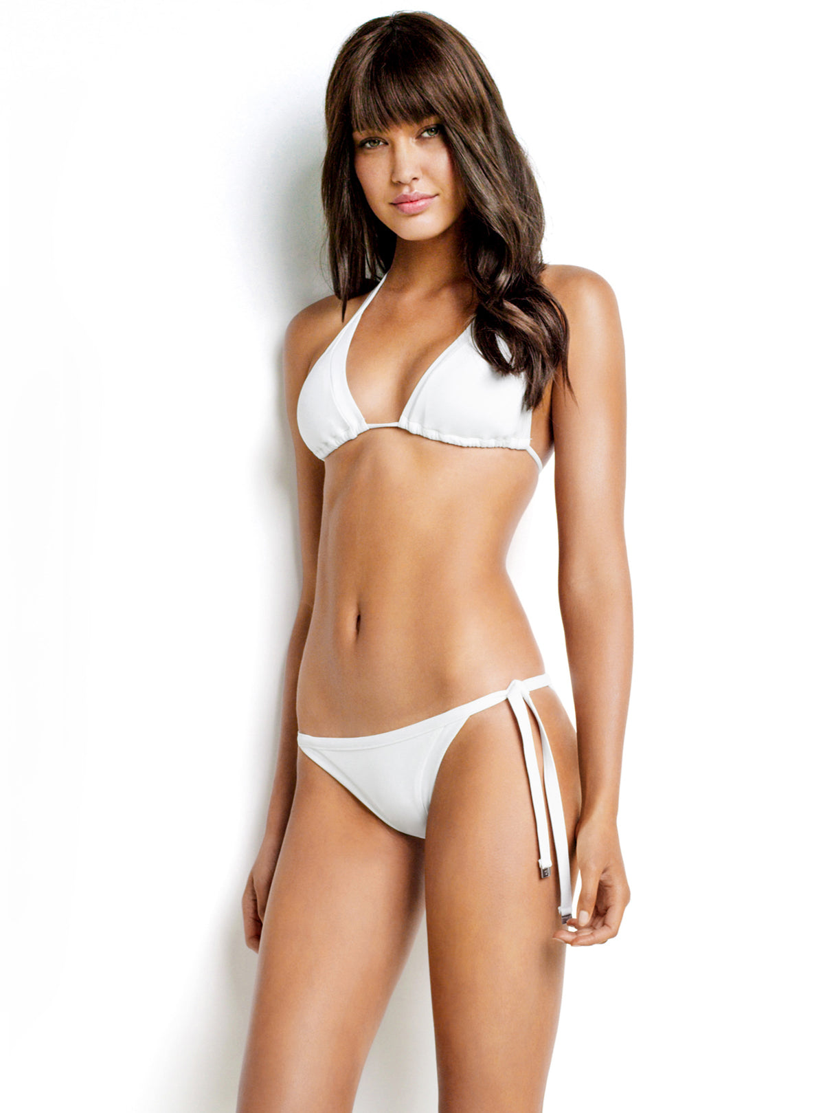 Seafolly Seafolly Slide Triangle White