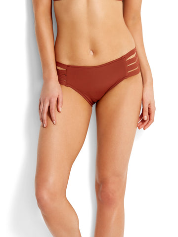 Seafolly Active Multi Strap Hipster Burnt Amber