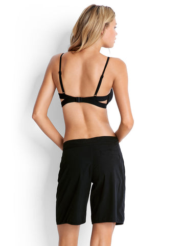 Seafolly Active Hybrid Bralette Black