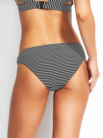 Seafolly Go Overboard Hipster Black