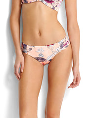 Seafolly Modern Love Ruched Side Retro Peach