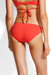 Seafolly Quilted Hipster Chilli, view 2, click to see full size