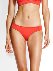 Seafolly Quilted Hipster Chilli, view 1, click to see full size