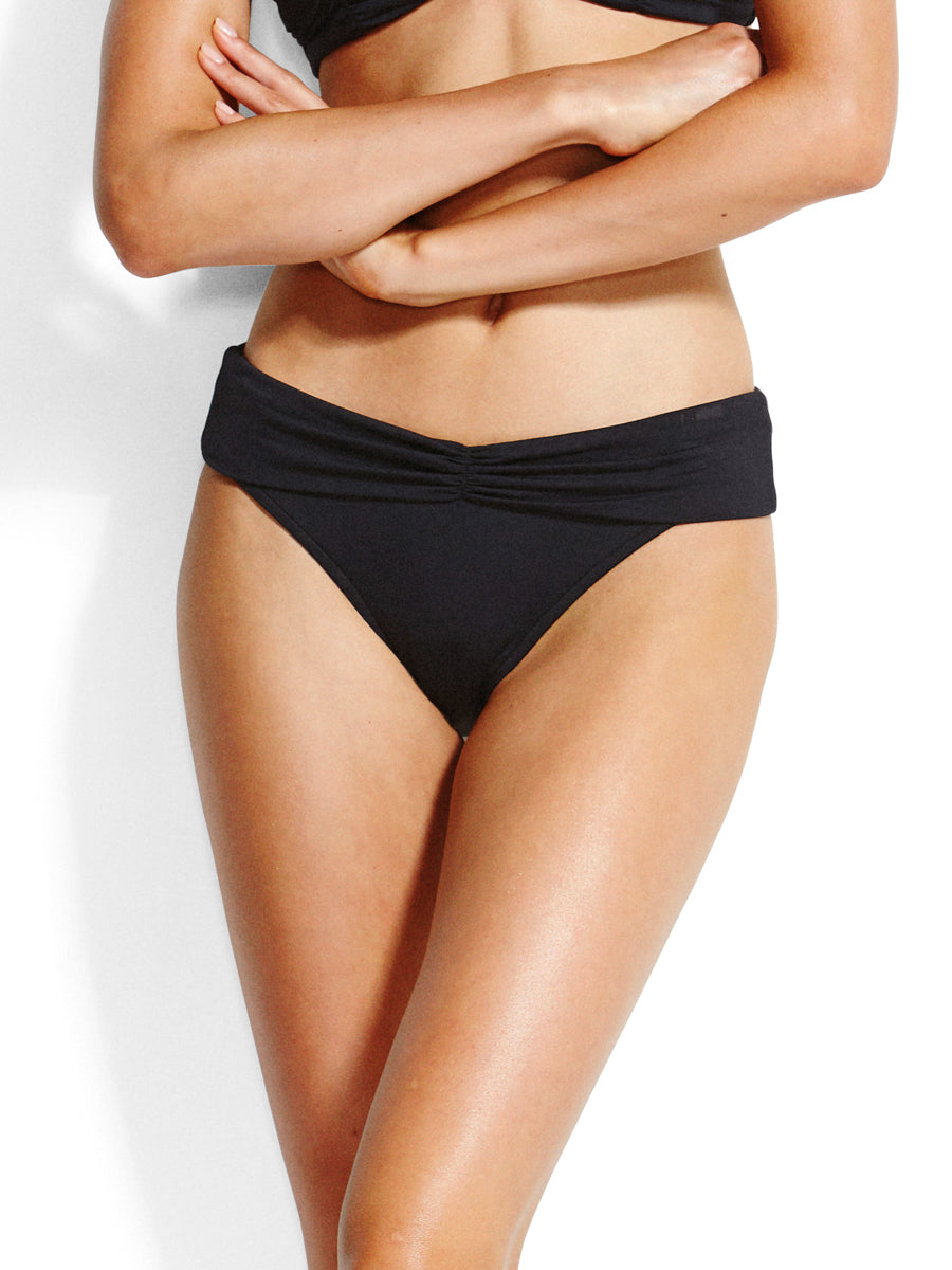 Seafolly Seafolly V Band Retro Black