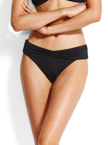 Seafolly Seafolly V Band Retro Pant Black