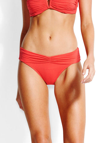 Seafolly Seafolly V Band Retro Pant Chilli