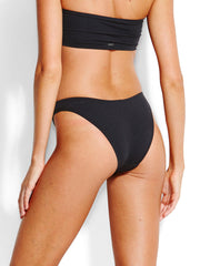 Seafolly Active High Cut Bottom Black