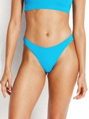 Seafolly Active High Cut Bottom Electric Blue
