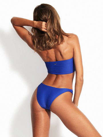 Seafolly Essentials Tube Top Blue Bolt
