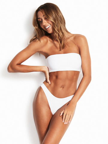Seafolly Essentials Tube Top White