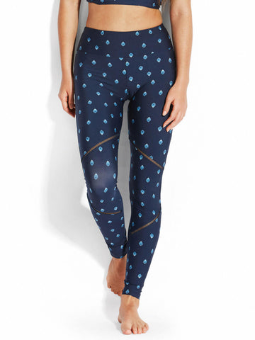 Seafolly Sunflower Active Full Length Legging Indigo