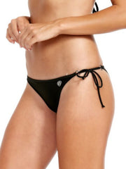 Body Glove Smoothies Ruched Brasilia Bottom Black