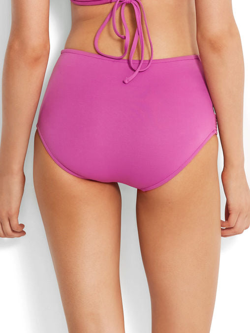 Seafolly Seafolly High Waisted Quilted Pant Berry