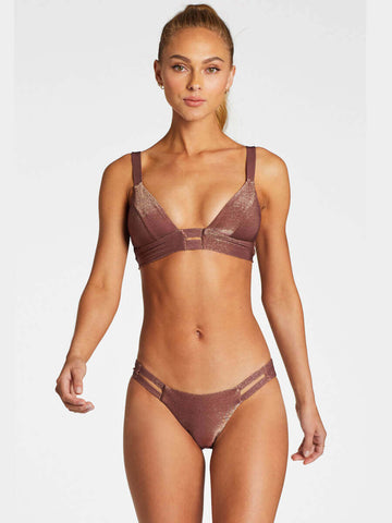 Vitamin A Neutra Bralette Supernatural Metallic