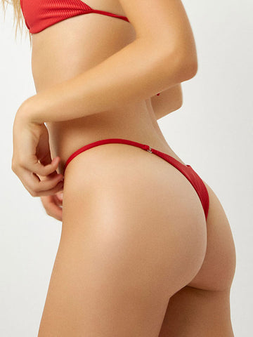 Frankies Bikinis Sara Bottom Cherry