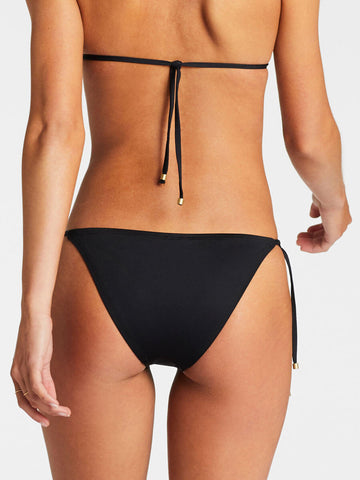 Vitamin A Elle Tie Side Bottom Eco Black