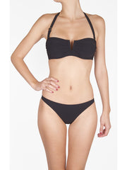 Shan Underwire Bandeau Onyx, view 1, click to see full size
