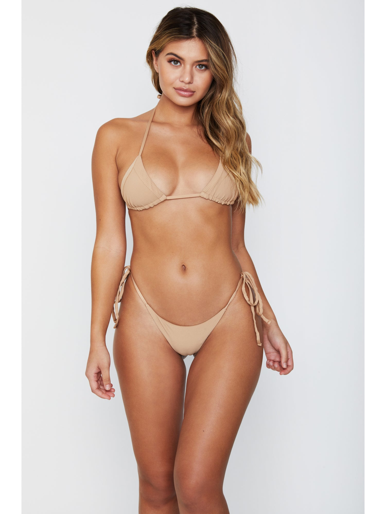 1cb1147a8a968 Frankies Bikinis Sky Ribbed Top Nude – Sandpipers