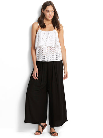 Seafolly Voile Pant Black