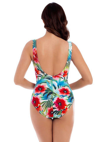 Miraclesuit Belle Rives Escape One Piece Multicolor