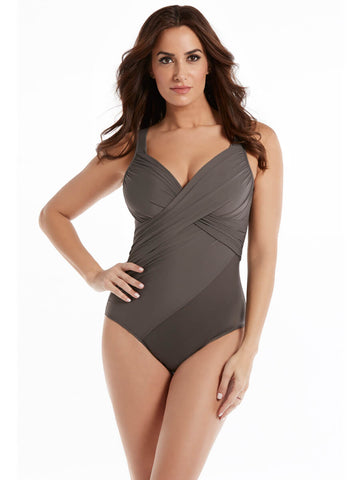 Miraclesuit Rock Solid Revele One Piece Mineral Grey