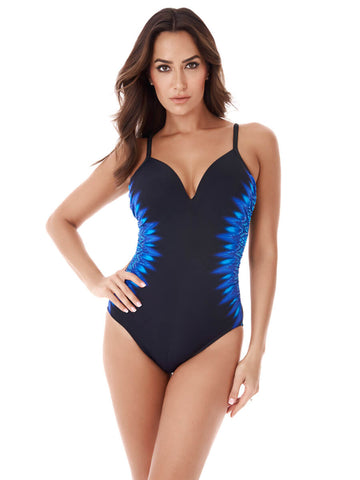 Miraclesuit One Piece Curacao Temptation Blue