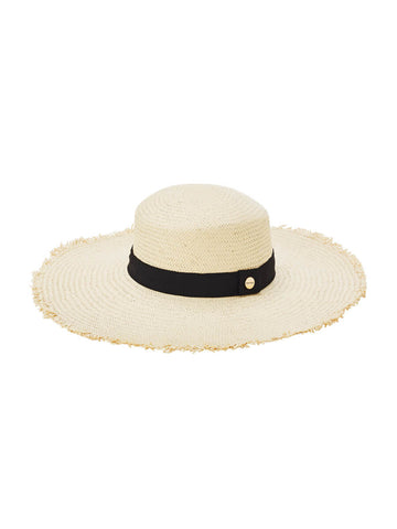 Seafolly Beach Boater Hat Natural