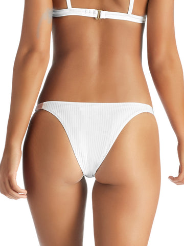 Vitamin A Carmen Teeny Bottom White EcoRib