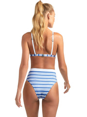 Vitamin A Moss Top Regatta Stripe, view 2, click to see full size