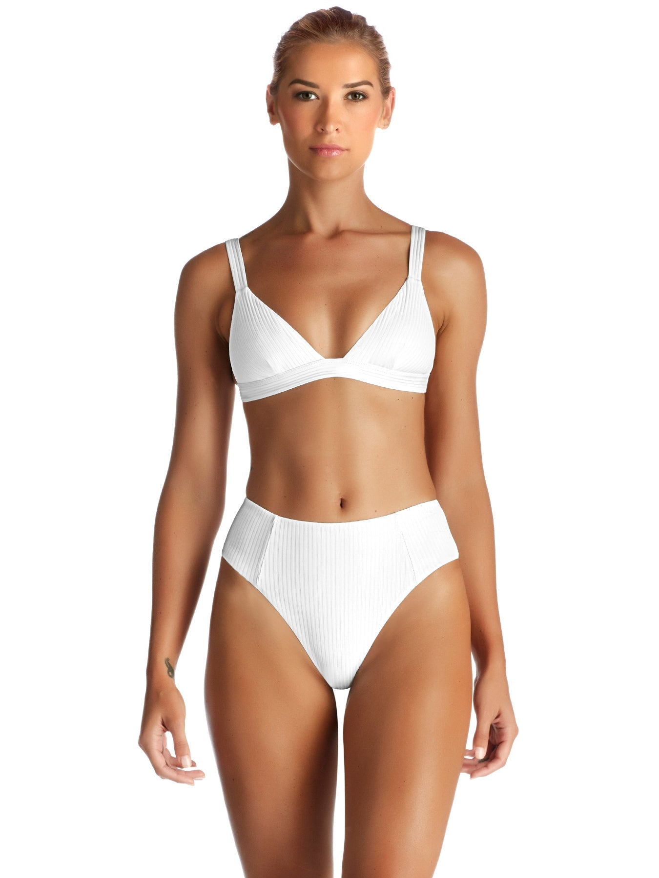 Vitamin A Sienna High Waist White Ecorib