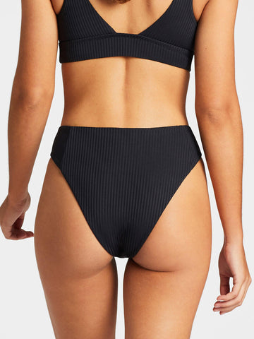 Vitamin A Sienna High Waist Black EcoRib
