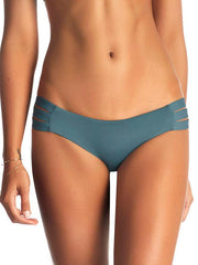 Vitamin A Emelia Triple Strap Full Bottom Marin Grey Pearl