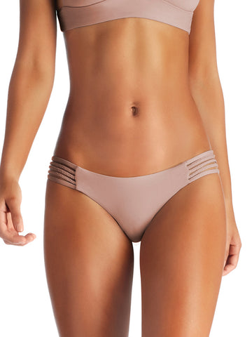 Vitamin A Jaydah Braid Teeny Bottom U-Taupia