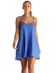 Vitamin A Paloma Knit Mini Dress Beach Blue