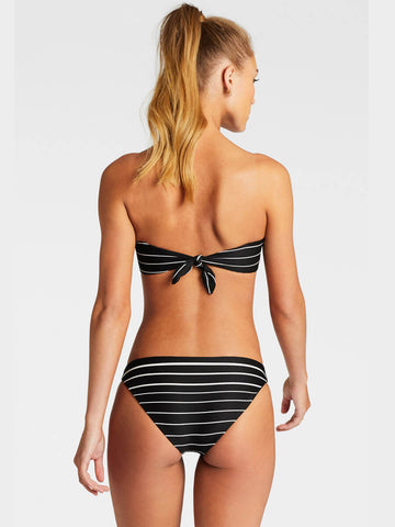 Vitamin A Mila Top Midnight Stripe