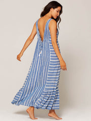 L*Space Allison Coverup Poolside Stripe, view 2, click to see full size